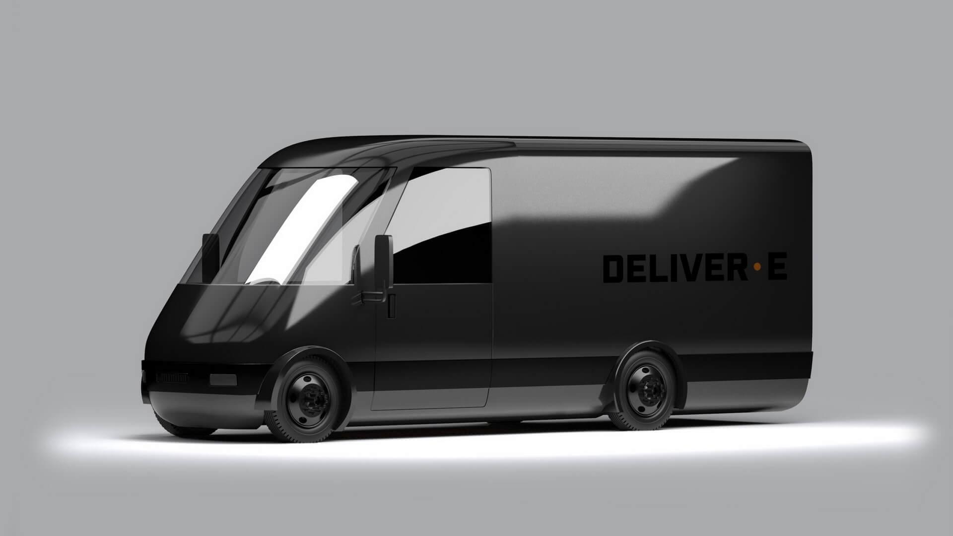 Полностью электрический фургон для служб доставки Bollinger Deliver•E