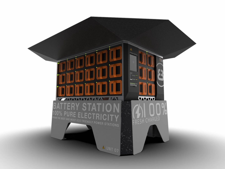 Станции по замене батарей от Electric Brands