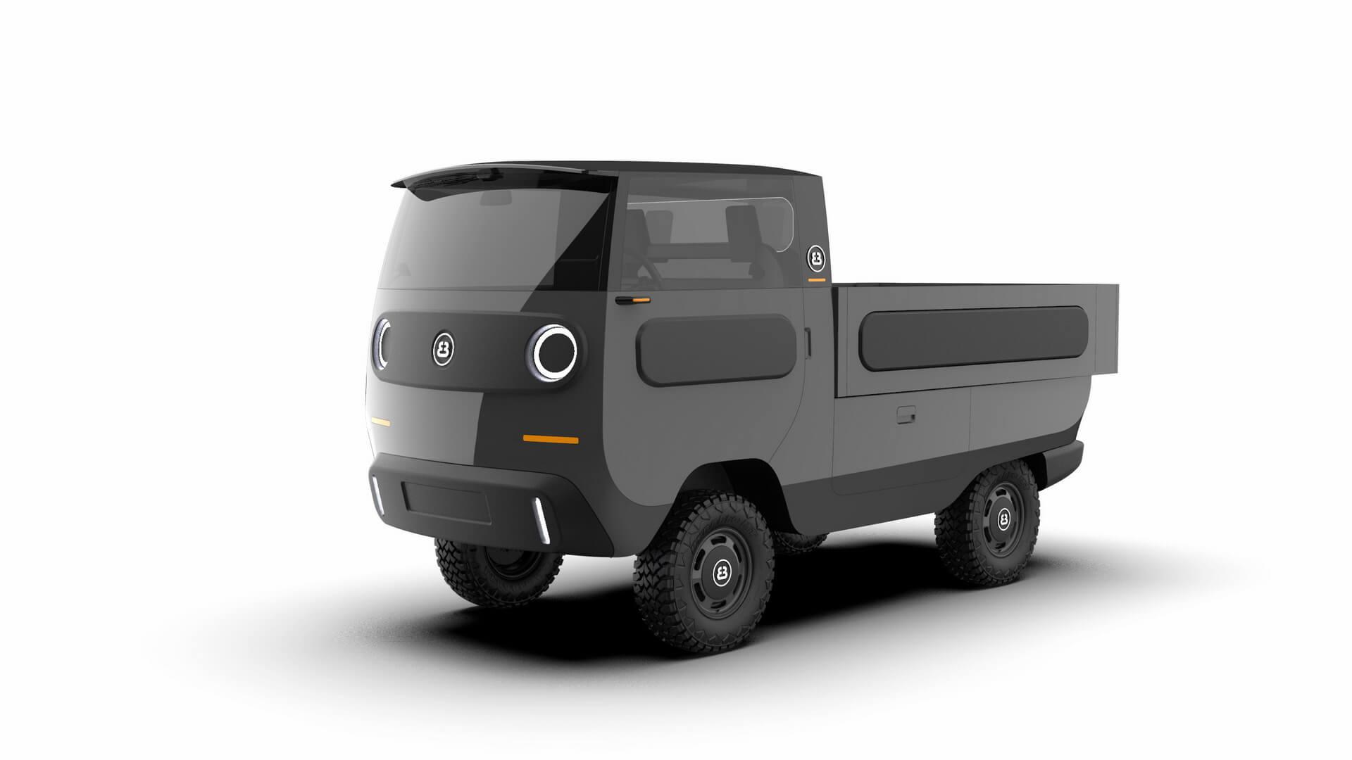 Немецкий стартап Electric Brands представляет модульный электромобиль eBussy