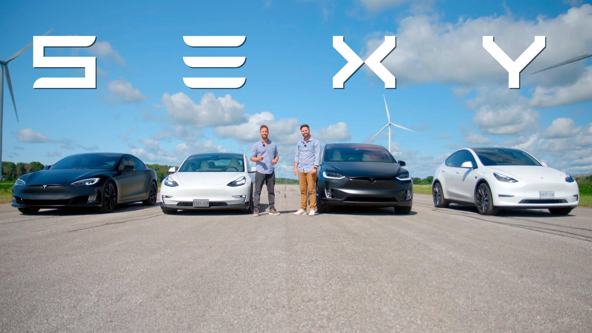 S3XY-гонка определила самые быстрые серийные модели Tesla