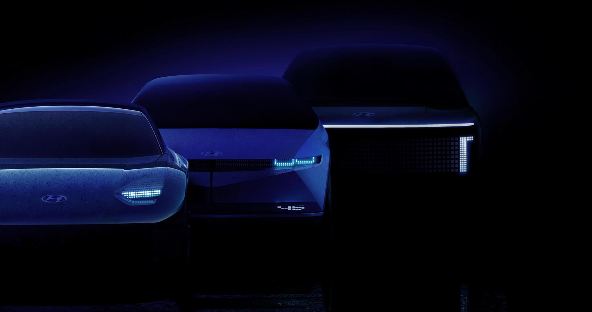 Hyundai запускает полностью электрический бренд IONIQ и подтверждает 3 новых электромобиля