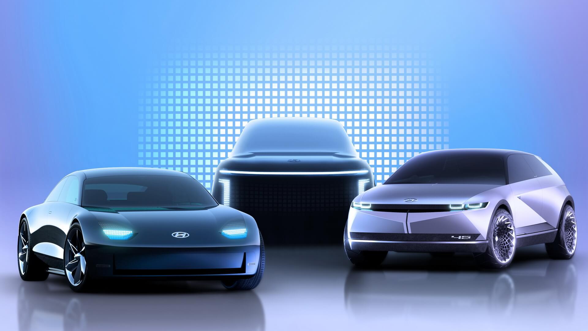 Под брендом IONIQ в ближайшие четыре года Hyundai Motor планирует представить три новые модели электрокаров