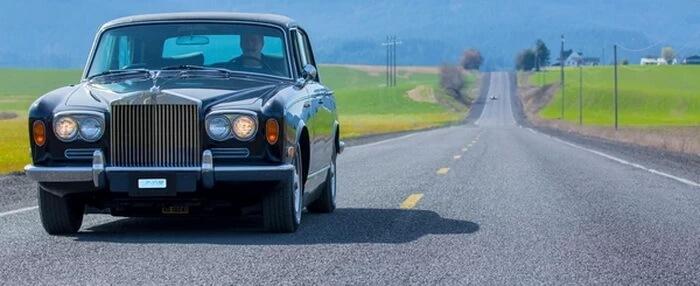Rolls-Royce Джонни Кэша превратили в электромобиль