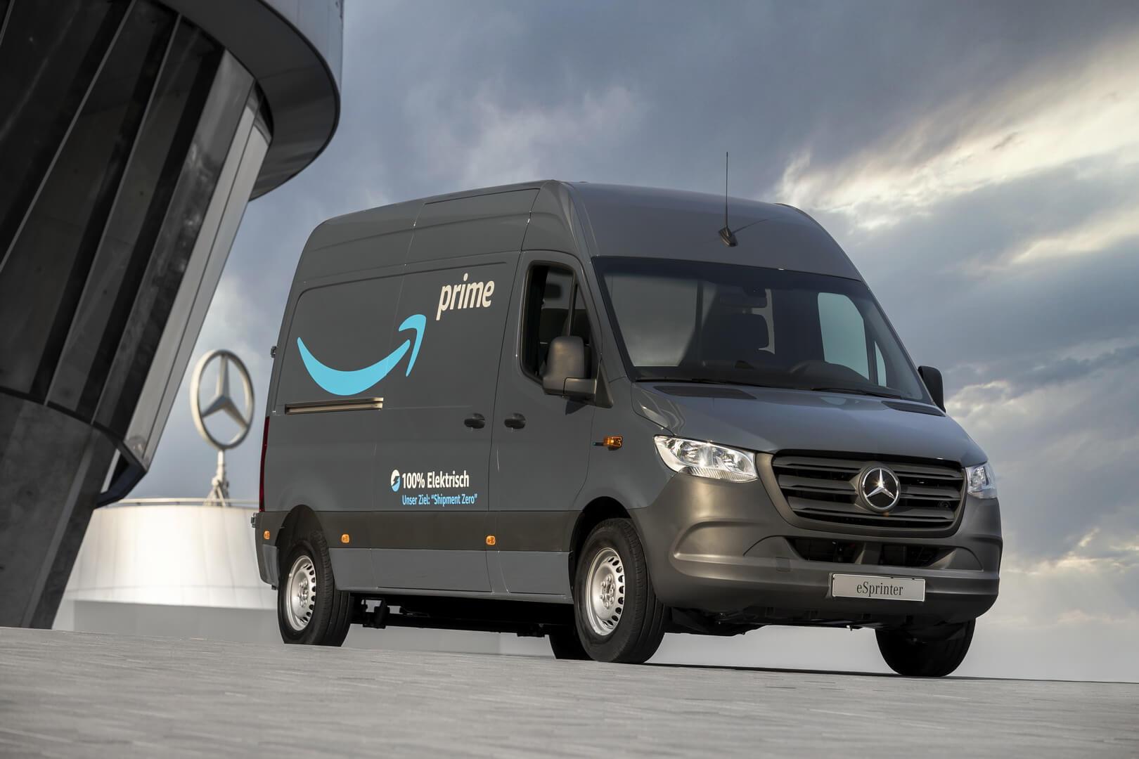 Электрический фургон Mercedes-Benz eSprinter для Amazon