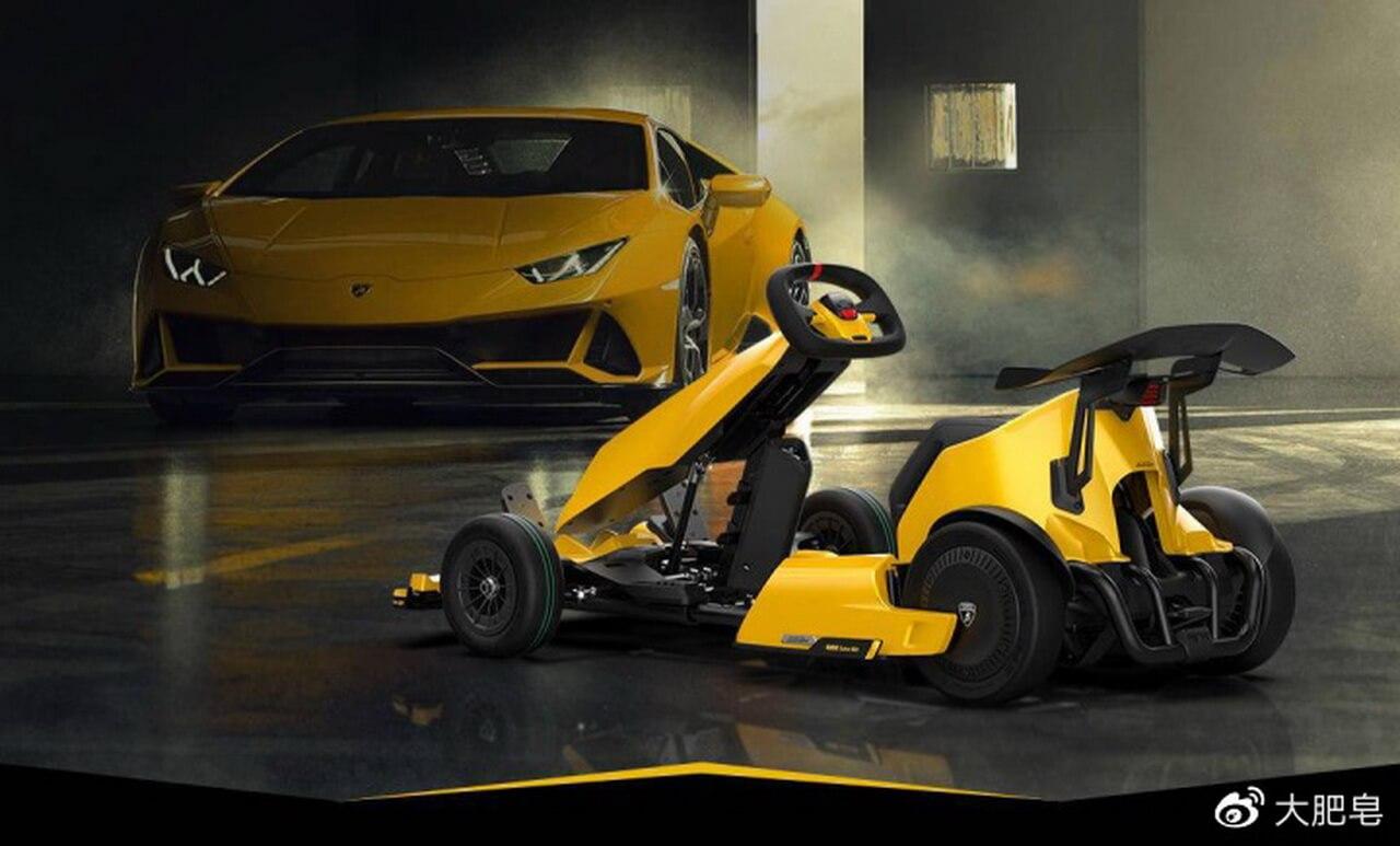 Xiaomi и Lamborghini разработали электрический картинг Ninebot GoKart Pro Lamborghini Edition