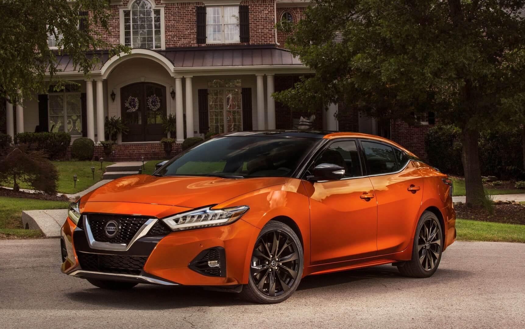 Топливная версия Nissan Maxima текущего поколения