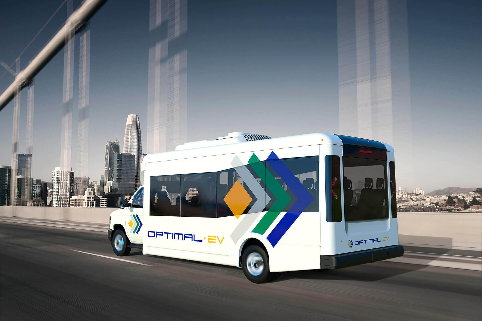 Электрический спецавтобус Optimal-EV S1LF с низким уровнем пола