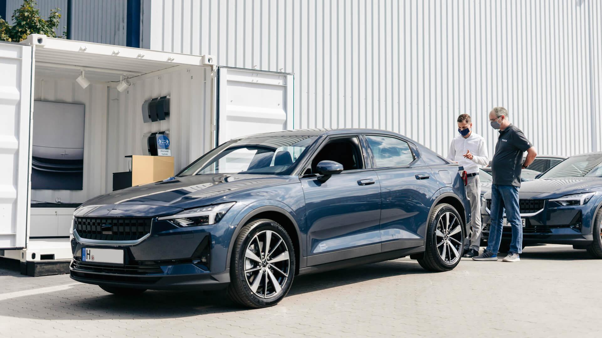 Polestar поставляет первые электромобили Polestar 2в Германию