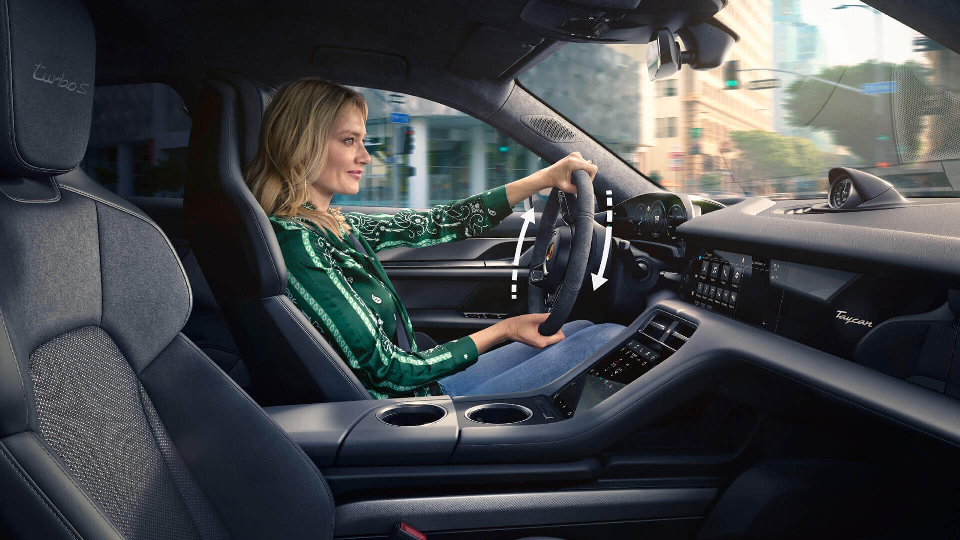 Усилитель рулевого управления Plus работает в зависимости от скорости