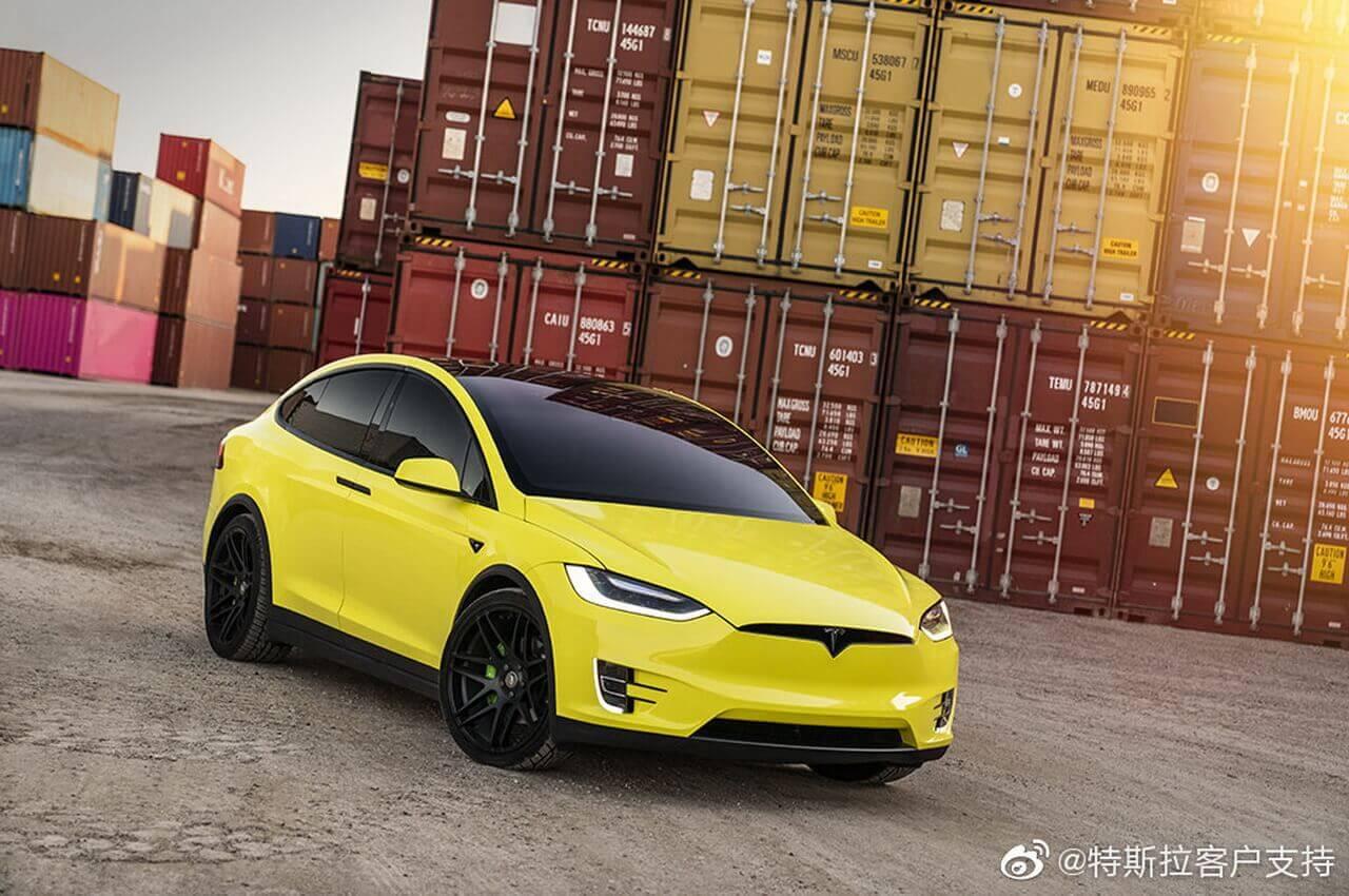 Tesla запускает собственный сервис «оклейки» электромобилей в Китае