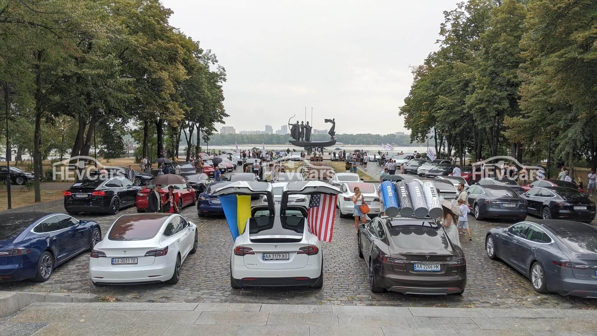 В Киеве прошел второй фестиваль ТеслаПикникЧайка 2020