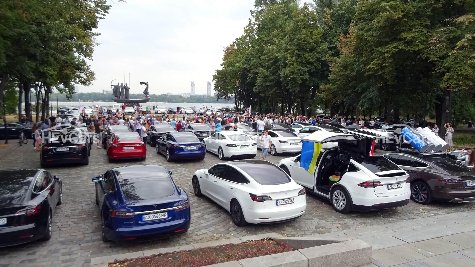 В Киеве при полном аншлаге прошел второй фестиваль Tesla — ТеслаПикникЧайка 2020
