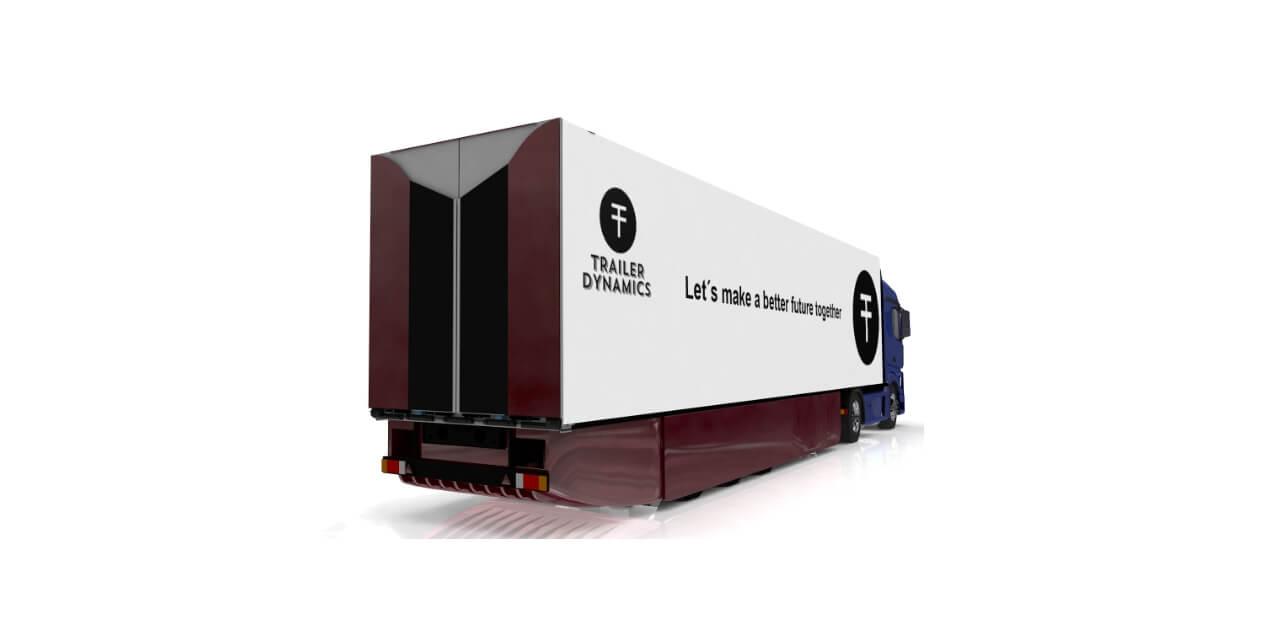 Электрический полуприцеп Trailer Dynamics Newton eTrailer