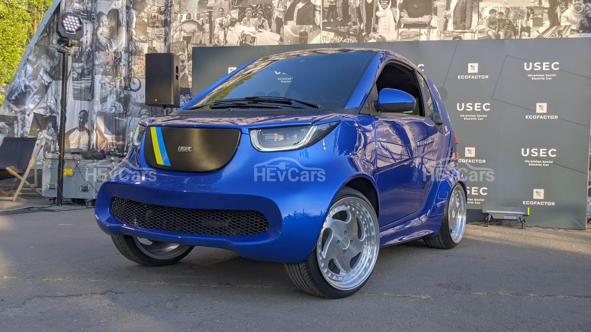 Прототип электрического автомобиля для людей синвалидностью, разработанный вУкраине
