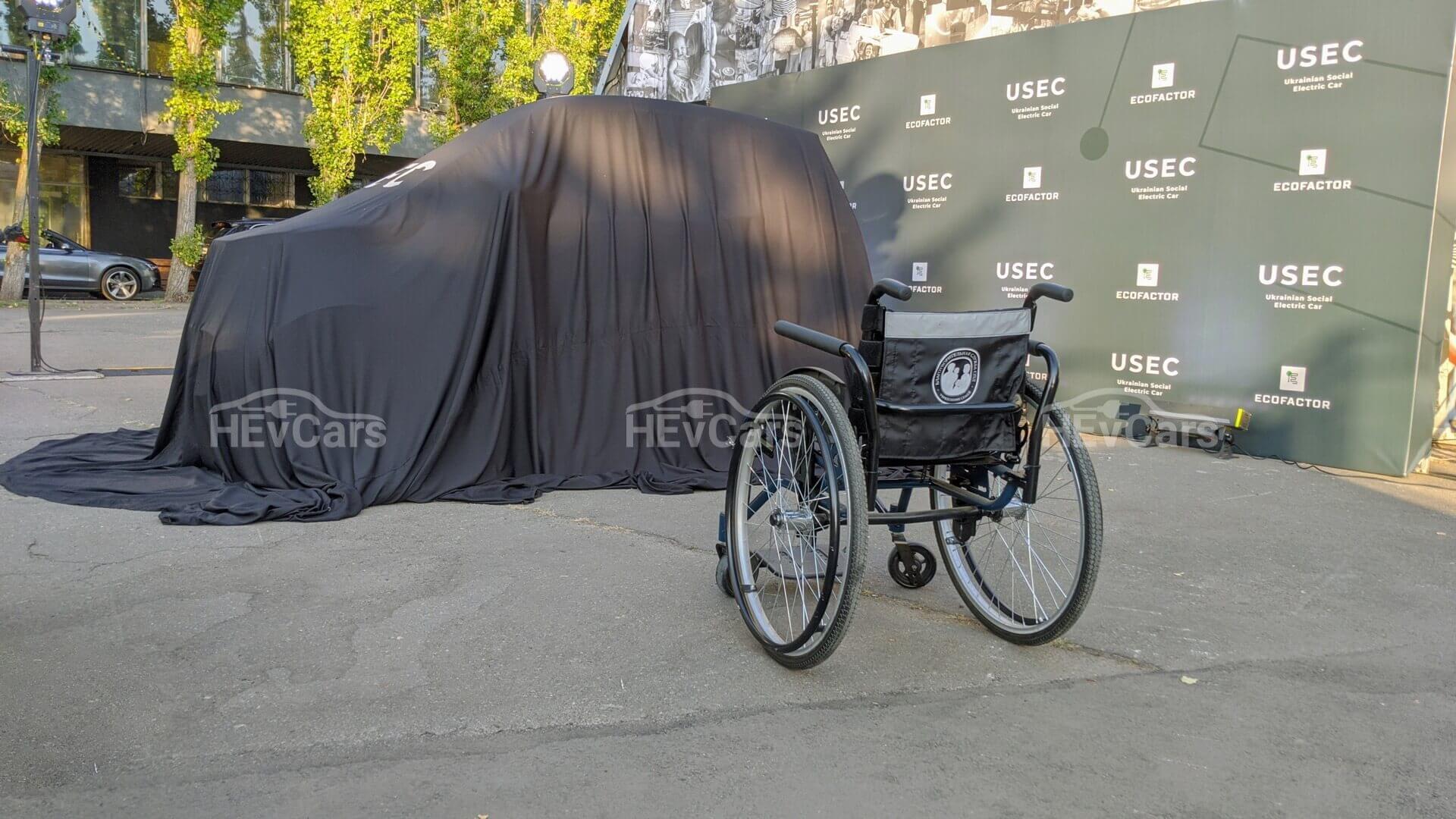 Электромобиль для людей с инвалидностью представили на ВДНХ