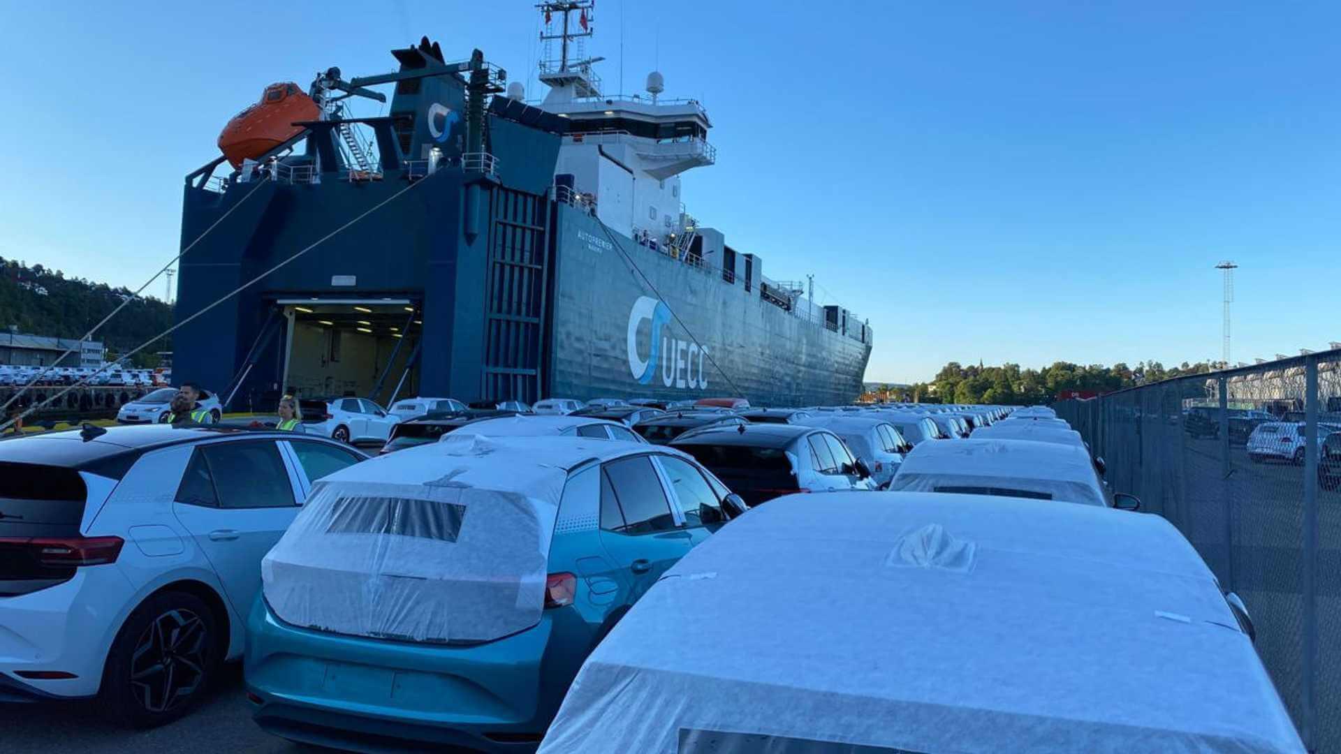 Норвегия встретила первую партию Volkswagen ID.3