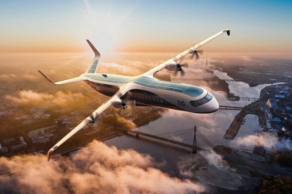 Британская EAG выпустит крупнейший коммерческий гибридный самолет в мире