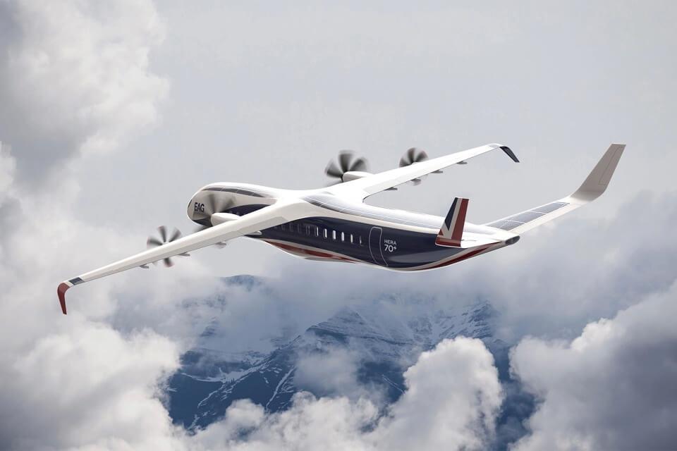 EAG представит первый в мире гибридный пассажирский самолет к 2028 году