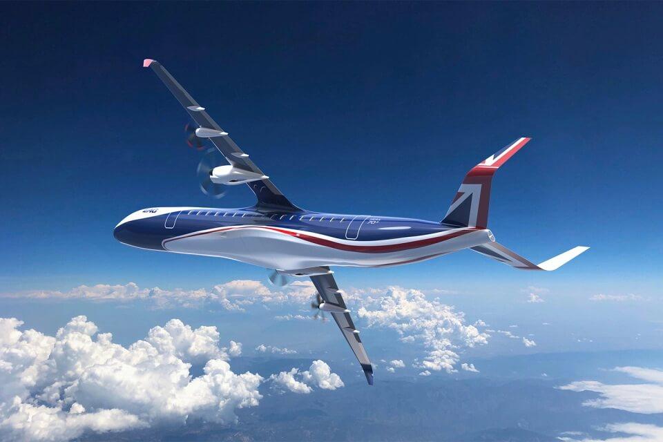 HERA EAG - гибридный самолет с дальностью полета 1500 км