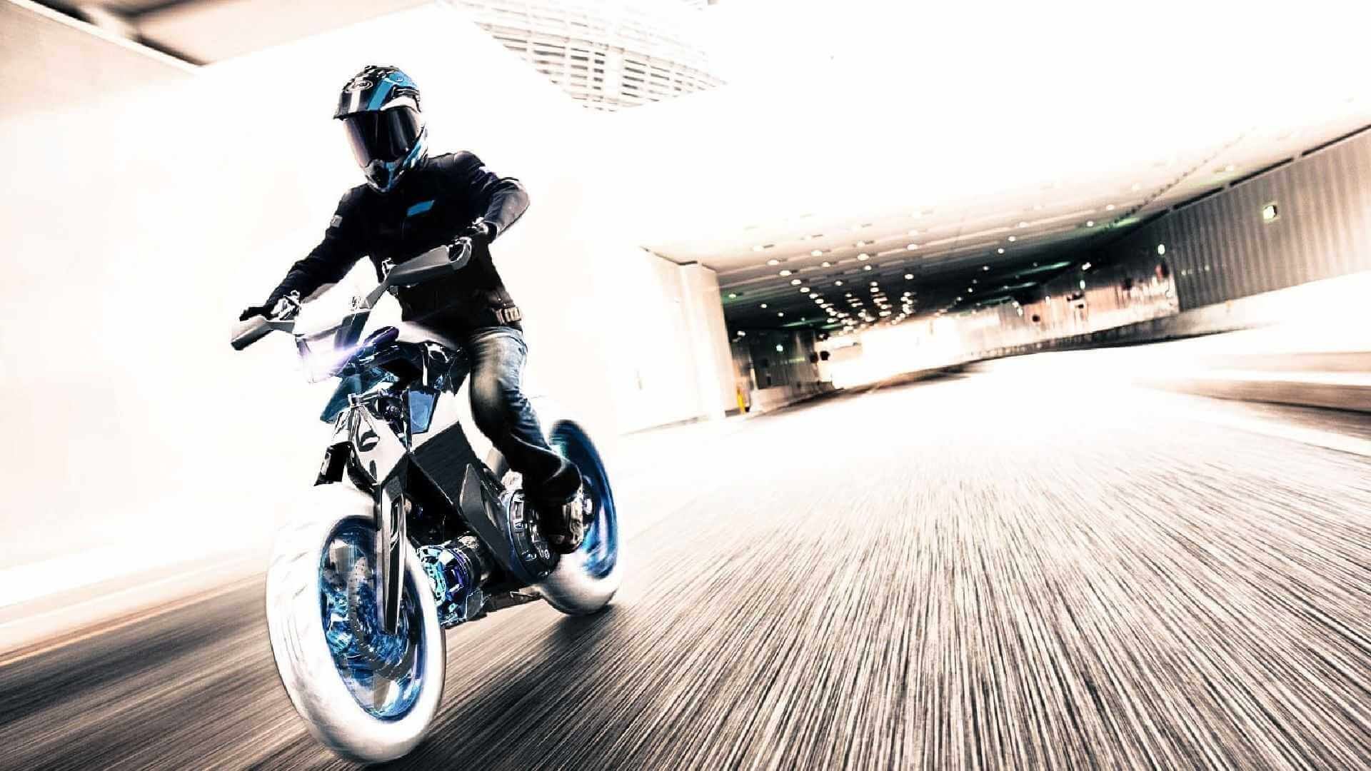 Yamaha XT500 H2O: мотоцикл будущего работающий наводе