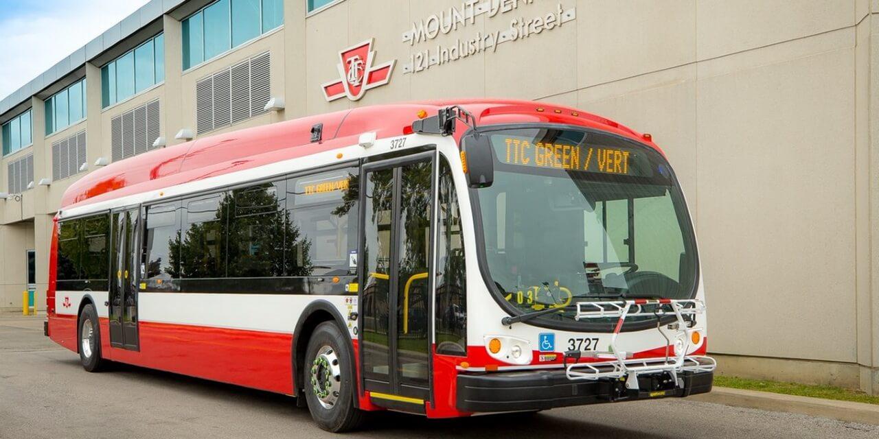 Электрических автобус BYD K9M в эксплуатации TTC
