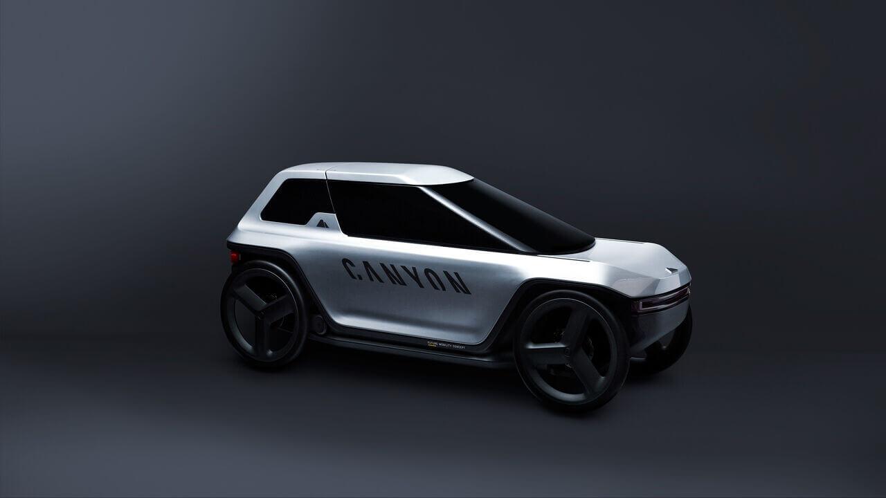 Canyon представил педальный электромобиль