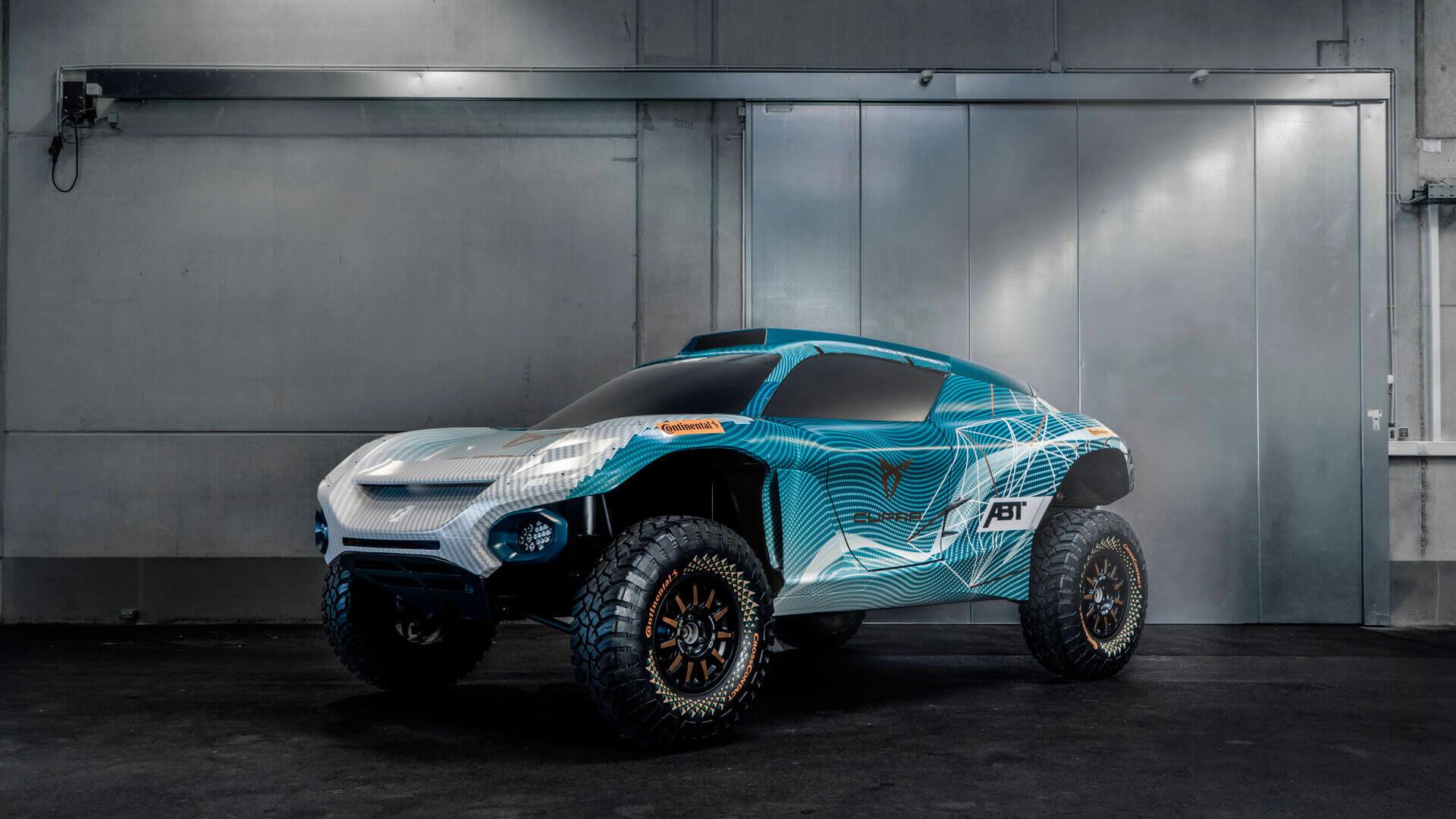 Торжественное открытие CUPRA Garage в Гамбурге ознаменовало собой объявление об участии бренда в Extreme E