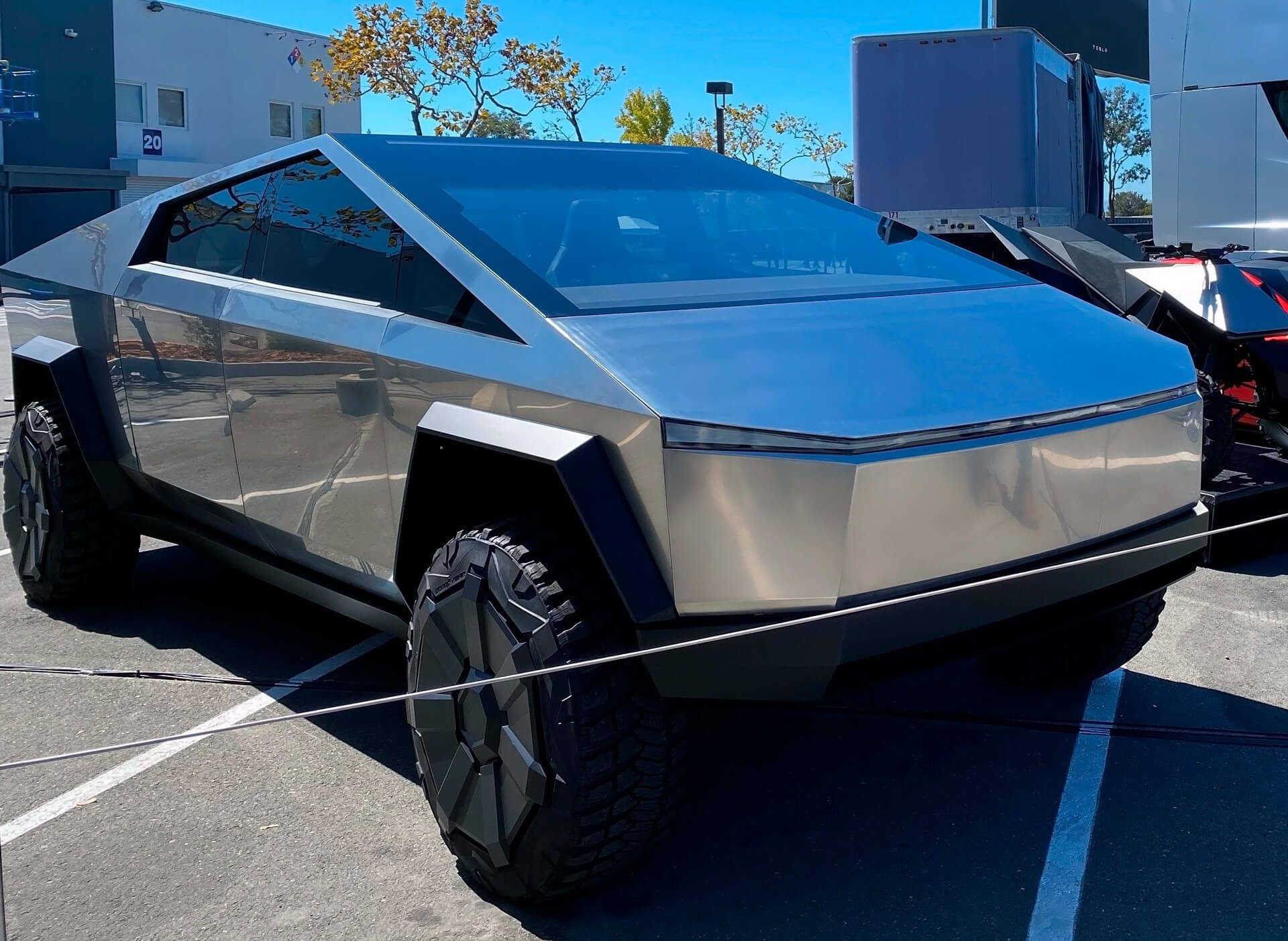 Tesla Cybertruck на Battery Day