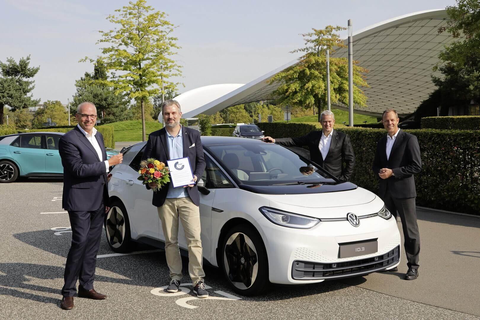 Первый покупатель Volkswagen ID.3 в Германии