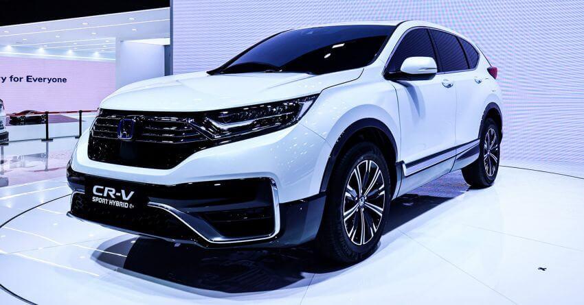Honda представила CR-V PHEV: первый плагин-гибрид для Китая