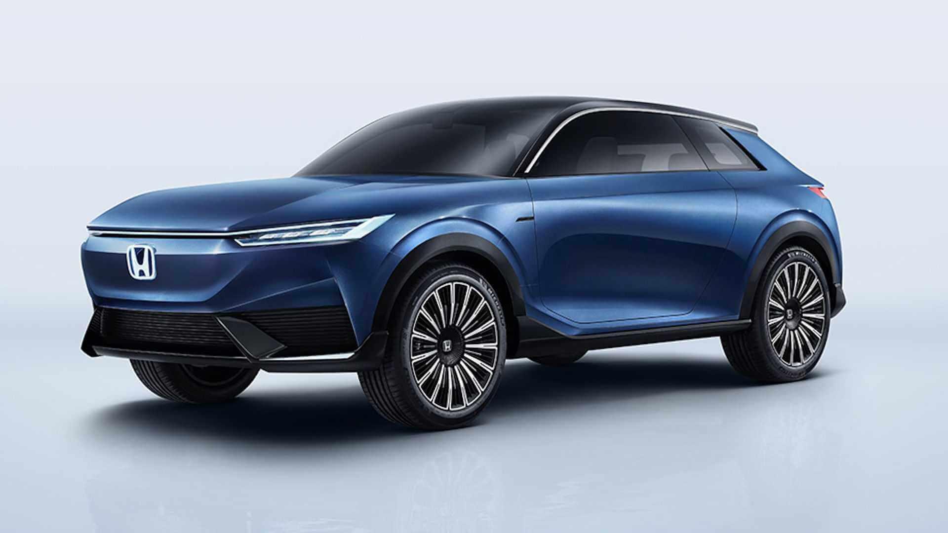 Honda официально представила новый электрокроссовер SUV e: concept