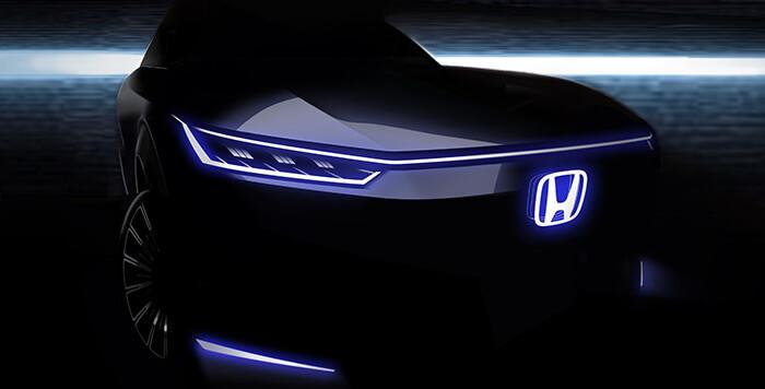Honda дразнит своим следующим чистым электромобилем в преддверии автосалона в Пекине
