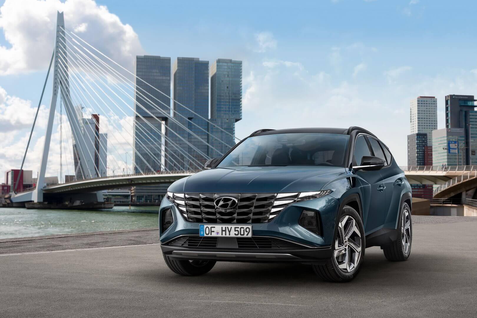 Компания Hyundai Motor представила абсолютно новый Hyundai Tucson четвертого поколения