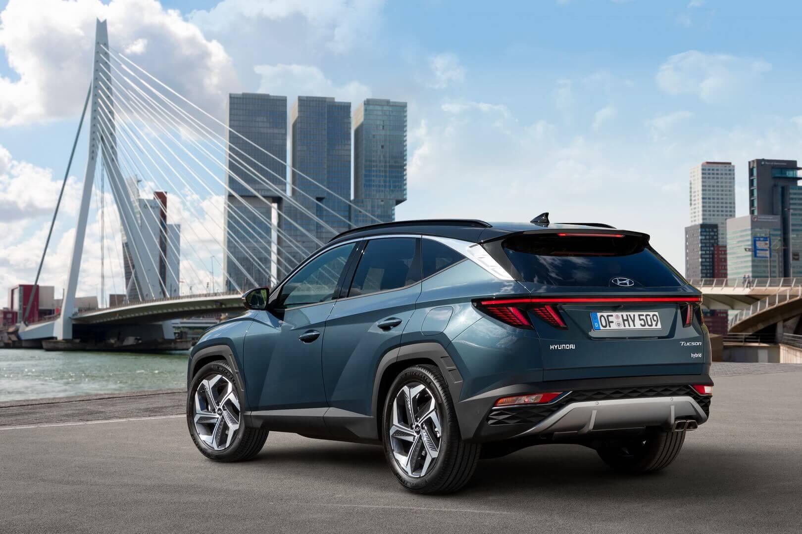 Hyundai представляет совершенно новый динамичный Tucson с лучшими характеристиками в сегменте и передовыми возможностями класса