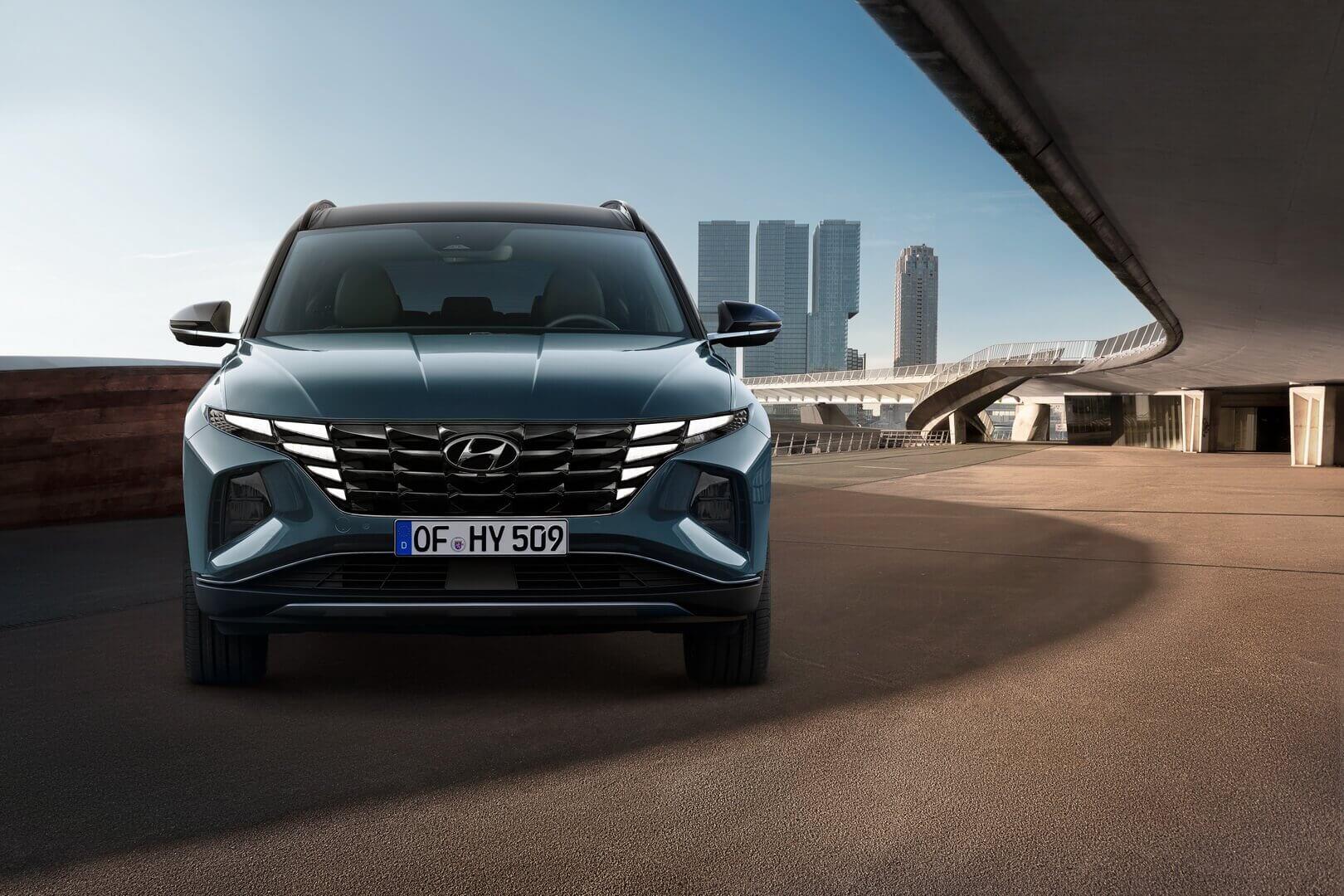 Экстерьер нового Hyundai Tucson