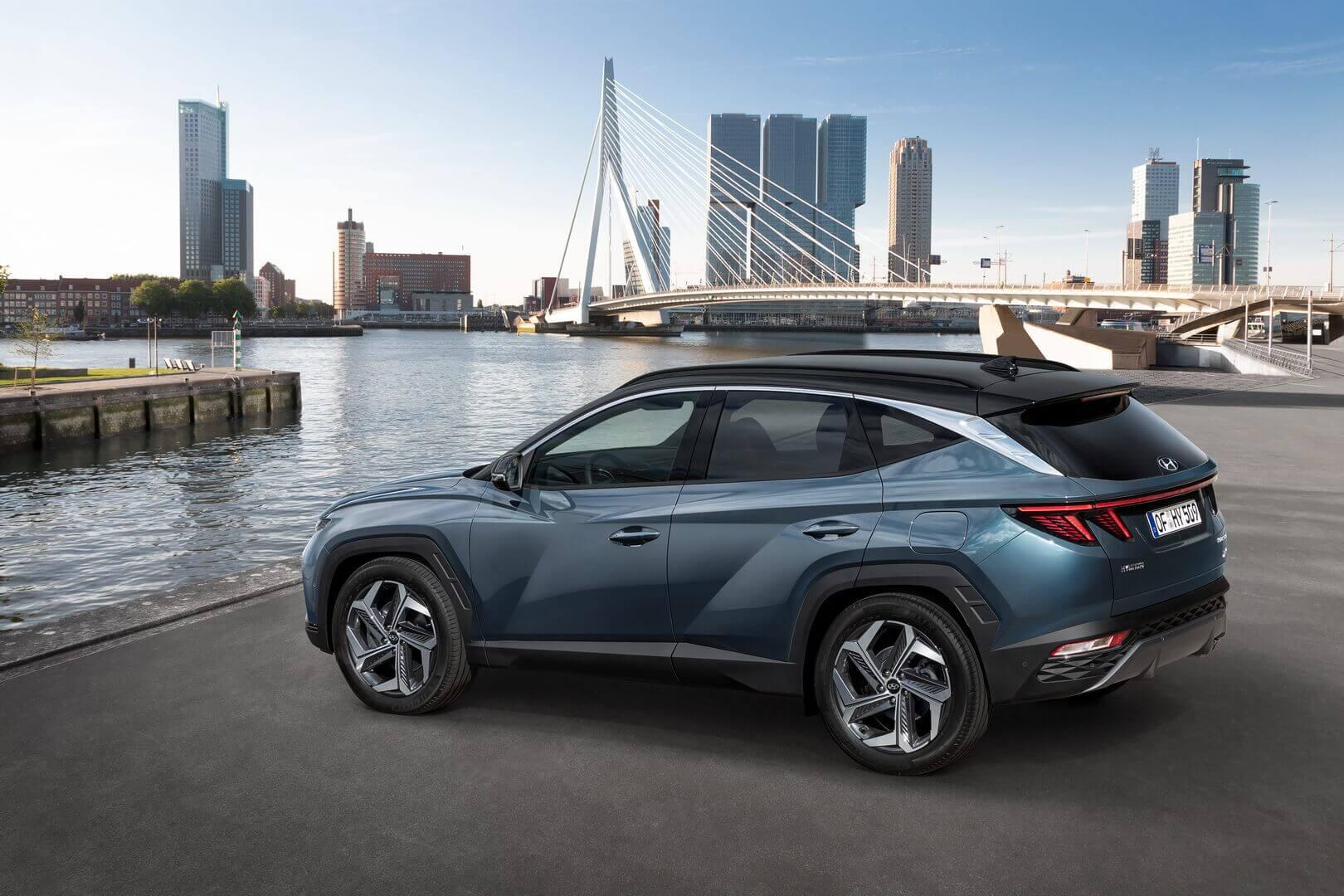 Hyundai Tucson предлагает самую электрифицированную линейку силовых агрегатов
