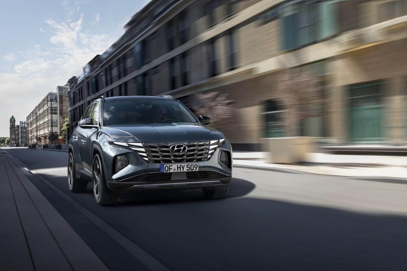 Совершенно новый Hyundai Tucson: умный технический герой с выдающимся дизайном