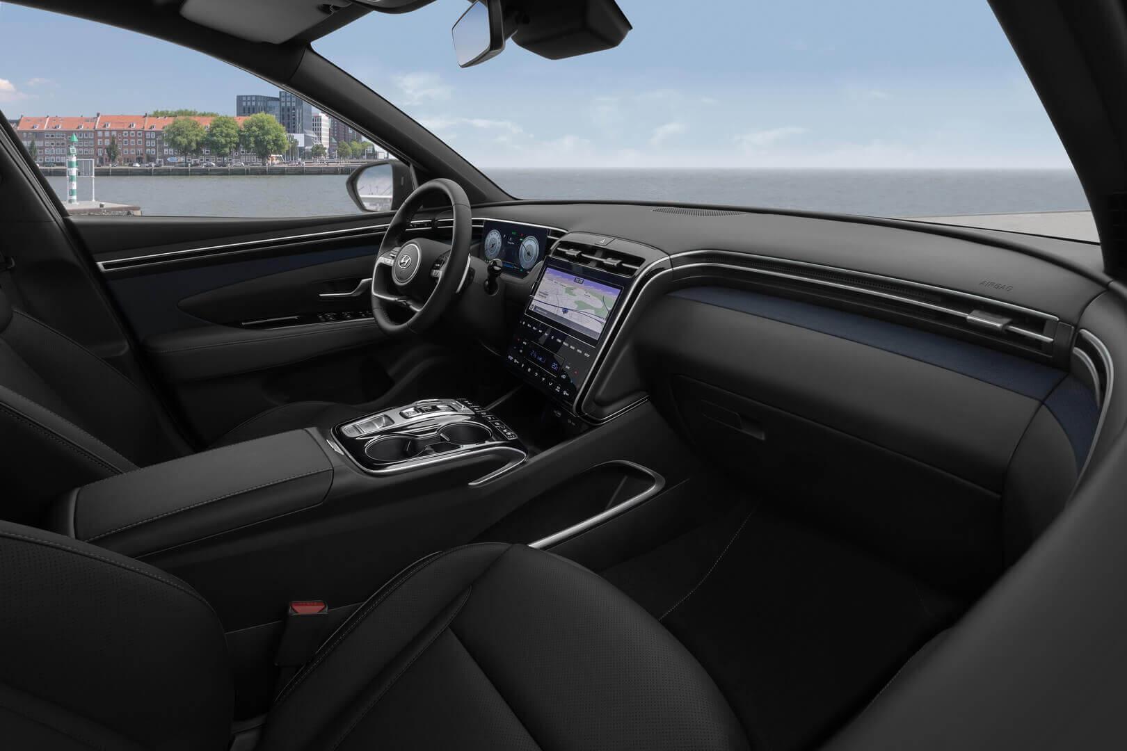 Экстерьер Hyundai Tucson четвертого поколения