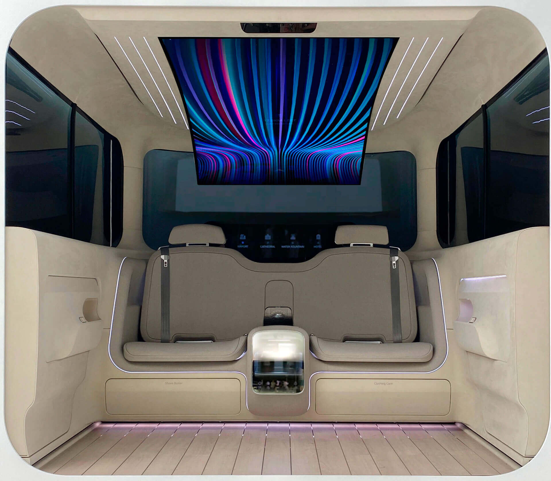 IONIQ Concept Cabin — будущее интерьеров электромобилей Hyundai