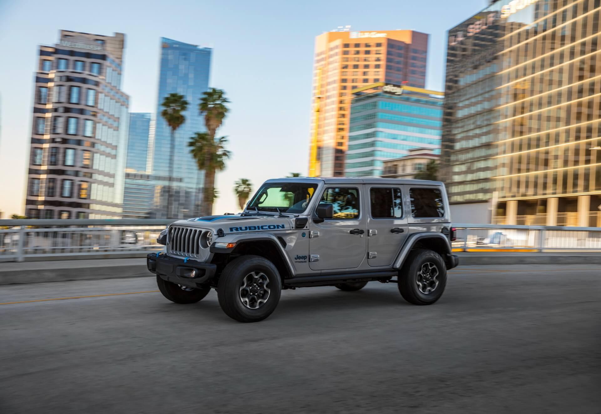 Фотография экоавто Jeep Wrangler 4xe - фото 7