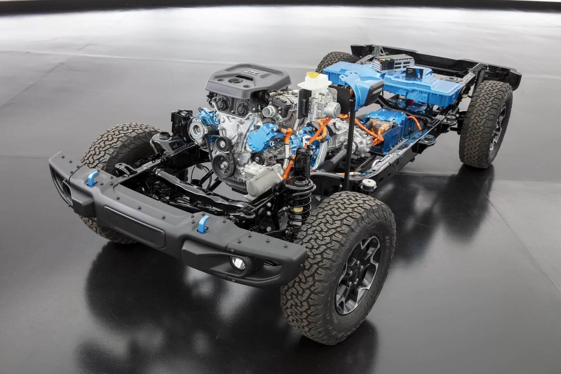 Фотография экоавто Jeep Wrangler 4xe - фото 48