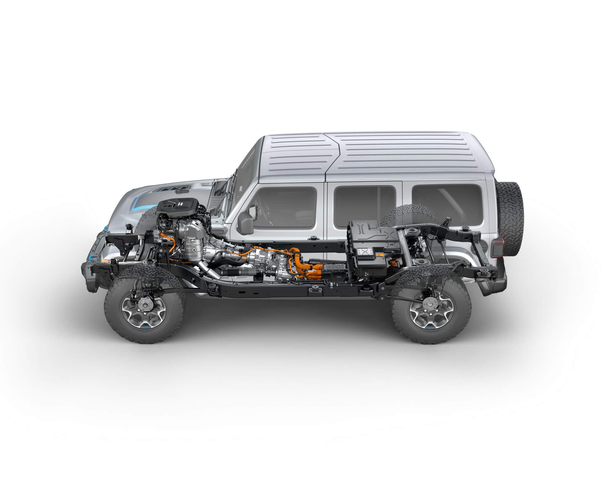 Фотография экоавто Jeep Wrangler 4xe - фото 38