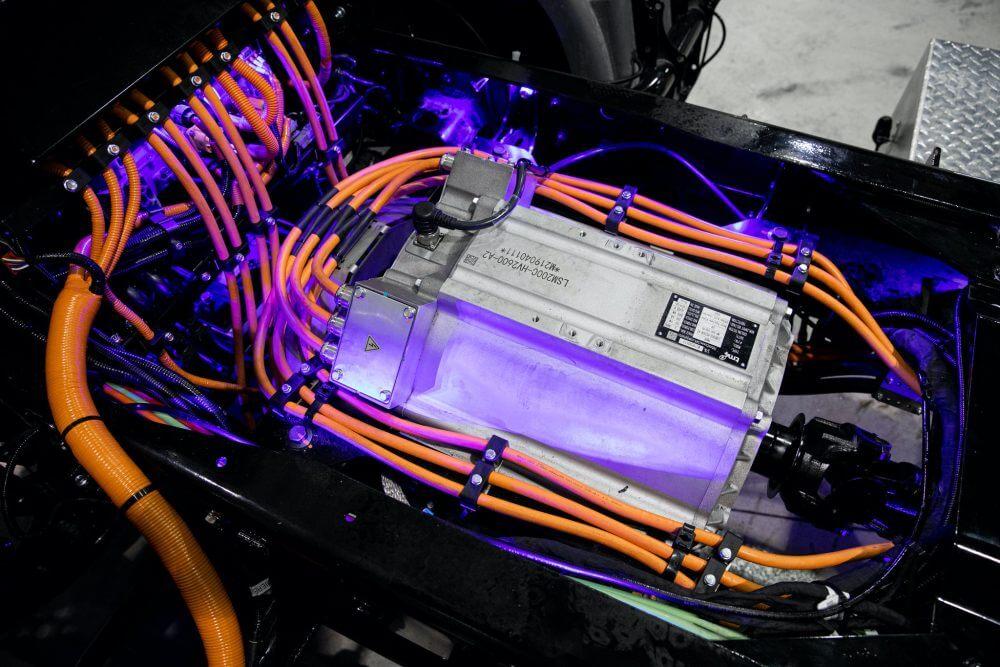 Электродвигатель, устанавливаемый в грузовики Kenworth