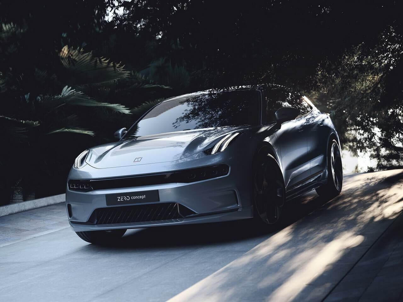Lynk & Co представляет полностью электрический автомобиль Zero Concept