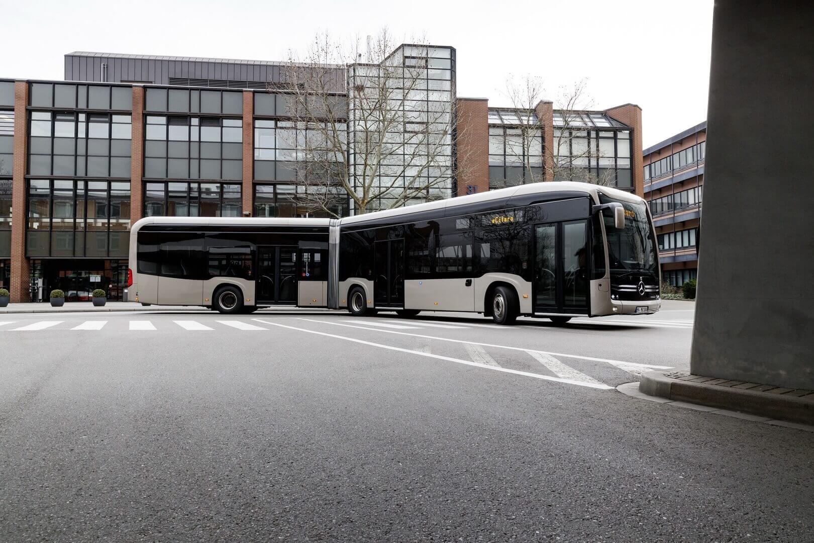 Mercedes-Benz eCitaro G: первый в мире электробус с твердотельными батареями