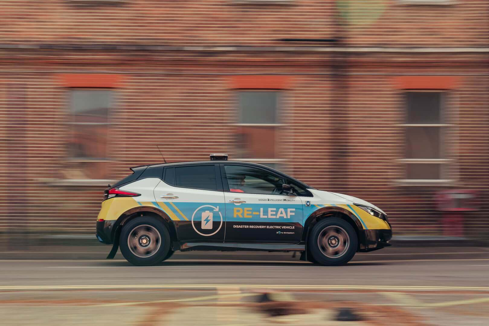 Nissan показал автомобиль-электростанцию для спасательных служб