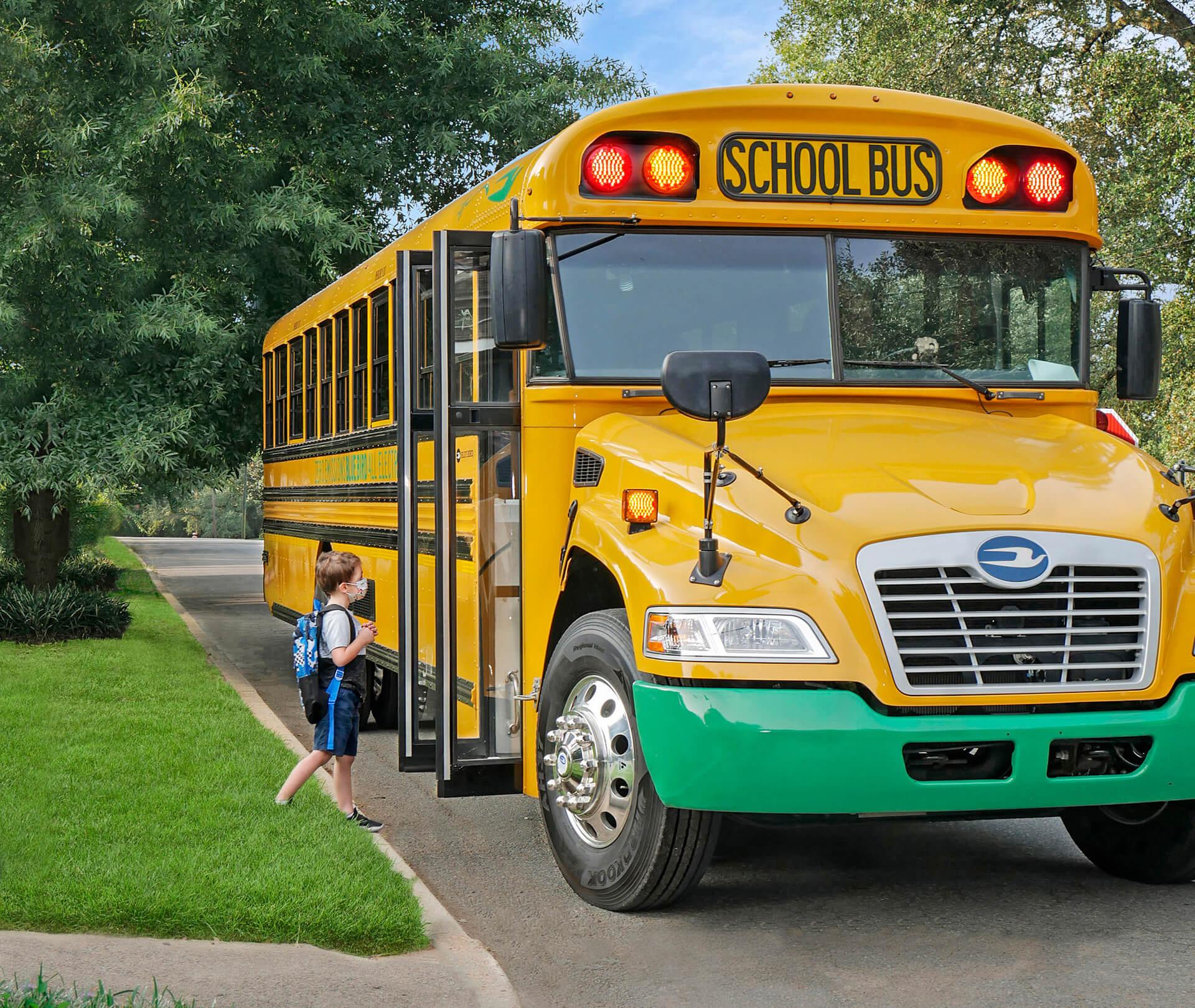 Школы получат экономическую выгоду от эксплуатации электрических автобусов с поддержкой V2G