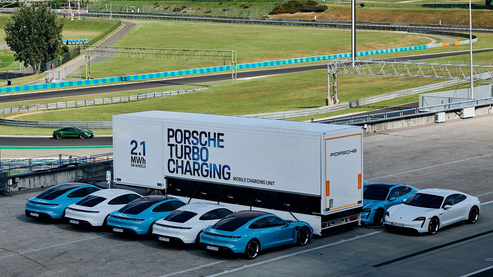 Мобильный источник энергии для зарядки электромобилей на базе прицепа емкостью 2,1 МВт⋅ч