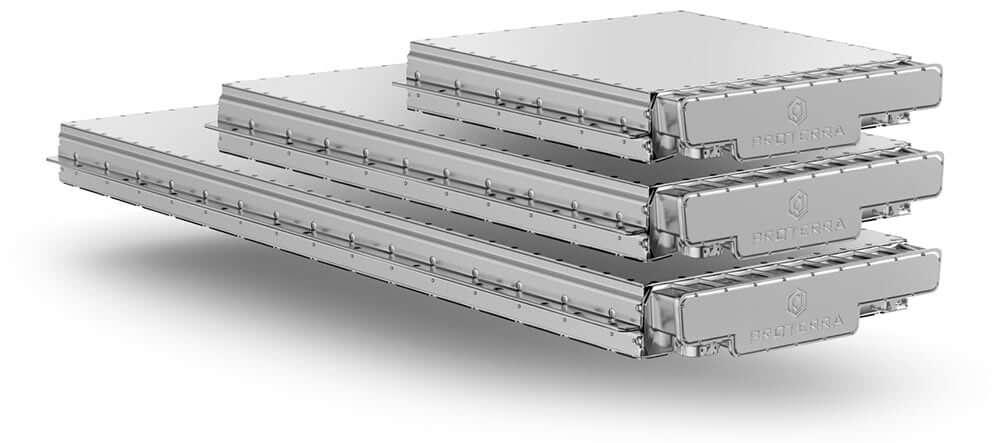 Масштабируемая модульная конструкция аккумуляторной батареи Proterra