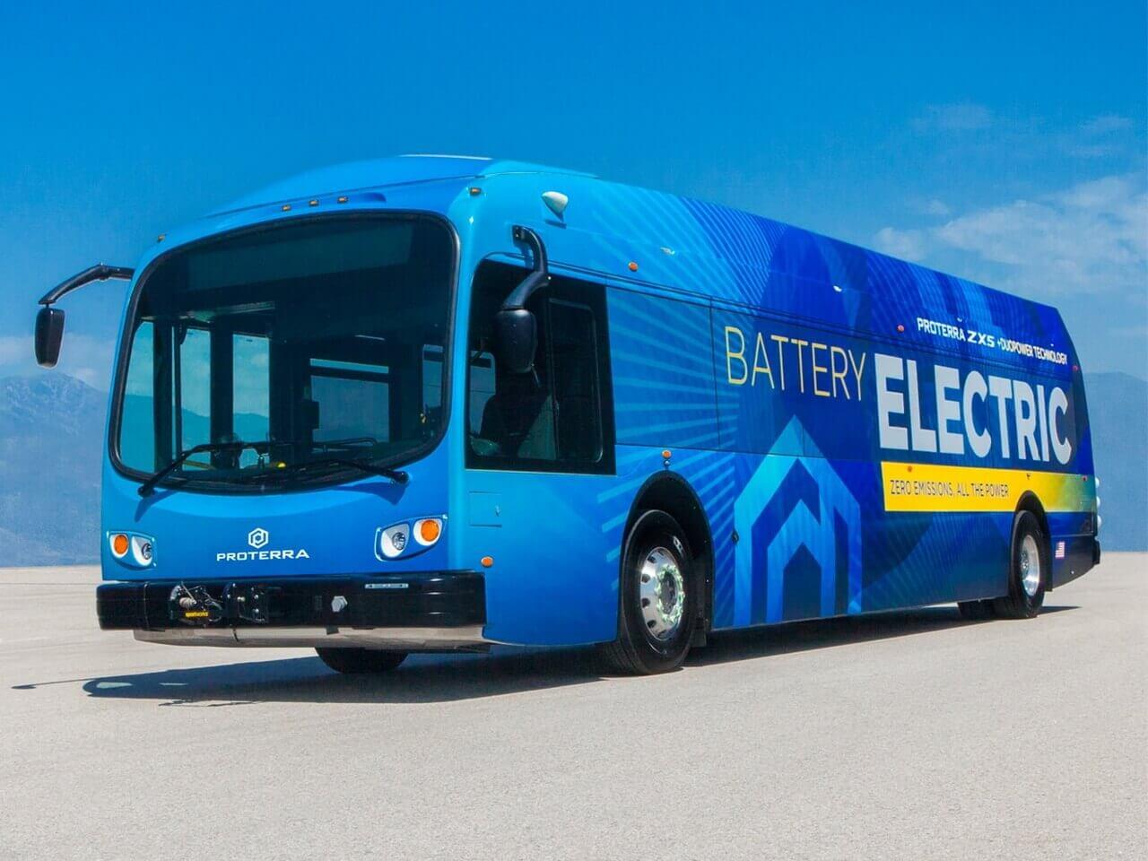 Электрический автобус нового поколения Proterra ZX5